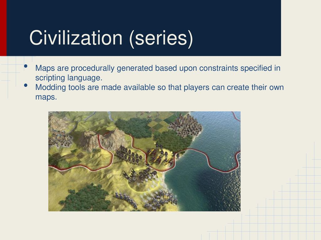 Procedural Content Generation - ppt download