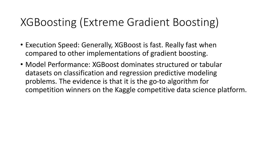 Xgboost Ppt