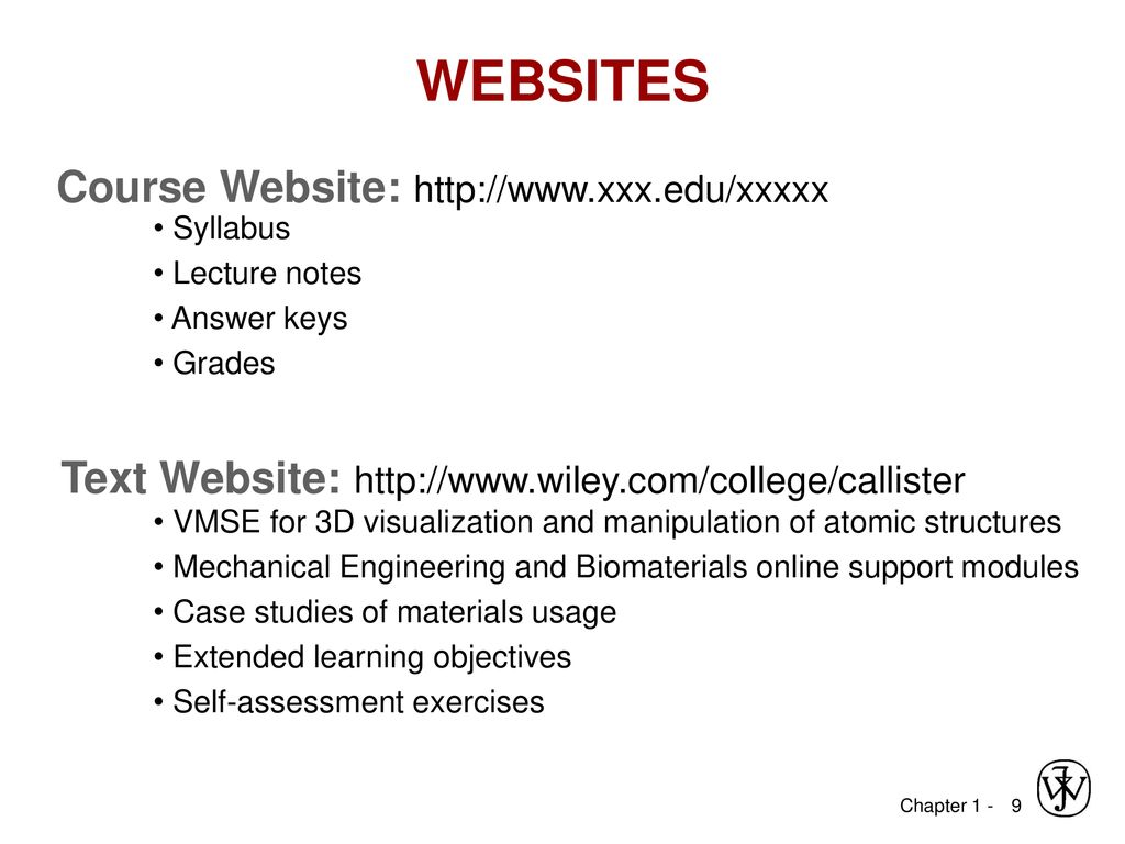 MSE XXX: Introduction to Materials Science & Engineering