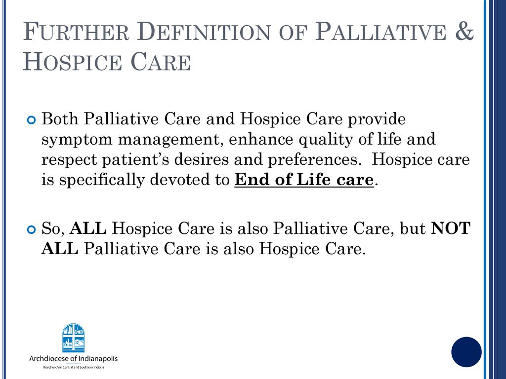 palliative care & hospice conference - ppt download