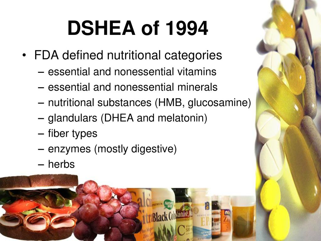 Food, Drugs and Supplements - ppt download