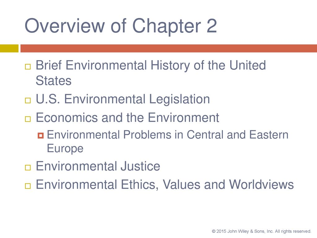 Environmental Laws, Economics, and Ethics - ppt download