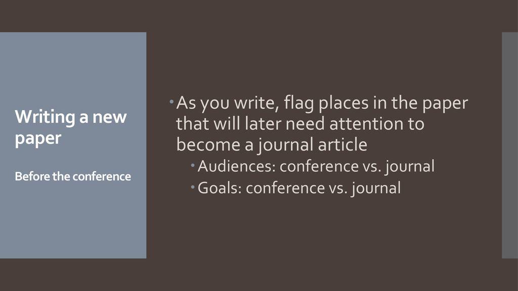 paper vs article