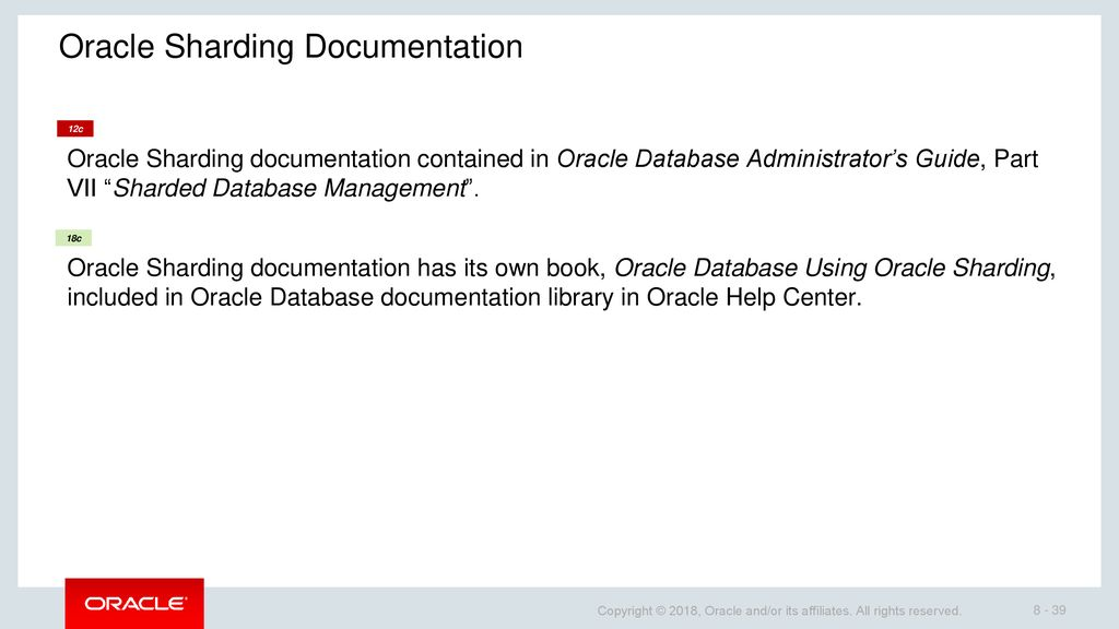 What is Oracle Database Sharding and What Is It Used For