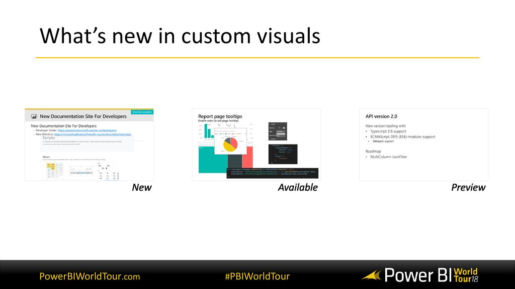 Build a custom visual for Microsoft Power BI and Excel from