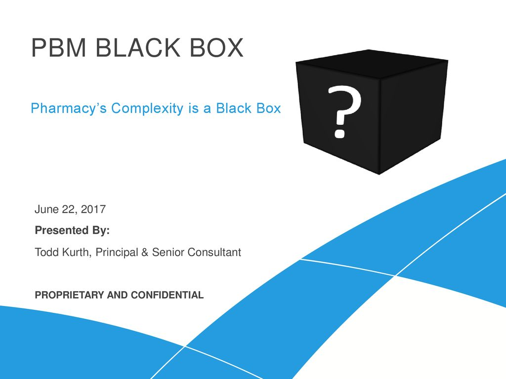 Pharmacy's Complexity is a Black Box