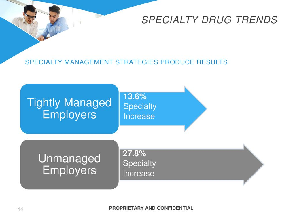 Specialty management strategies produce results