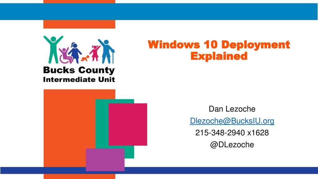 Windows 10 Deployment Explained - ppt download
