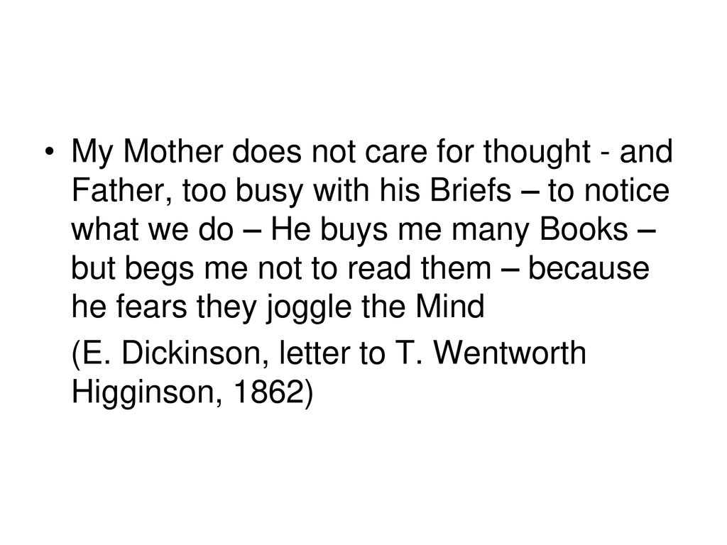 Emily Dickinson ( )  - ppt download