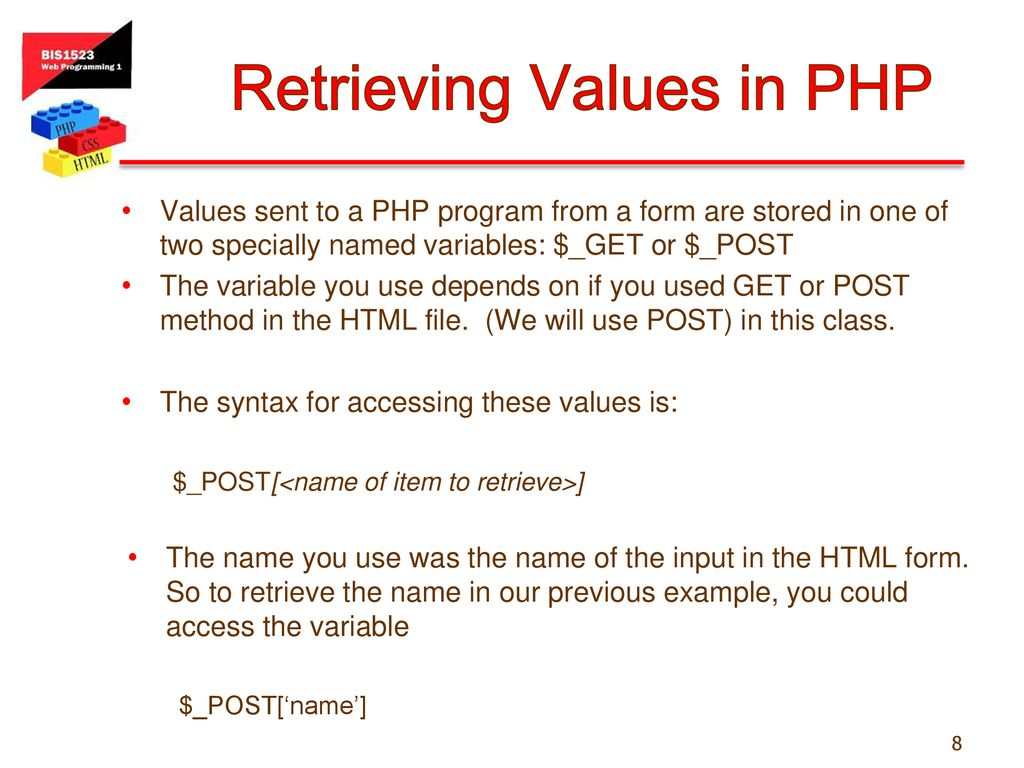 HTML Forms and User Input - ppt download