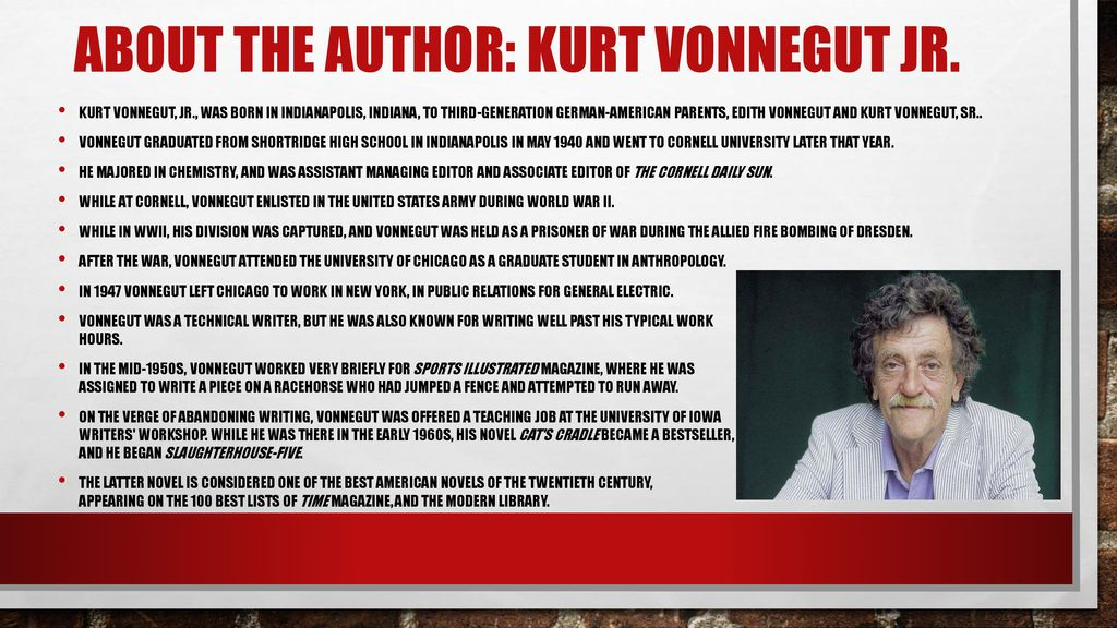 kurt vonnegut biography