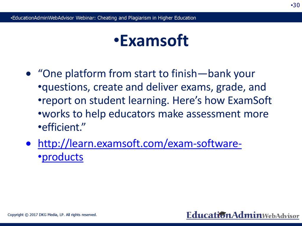 Examsoft Problems