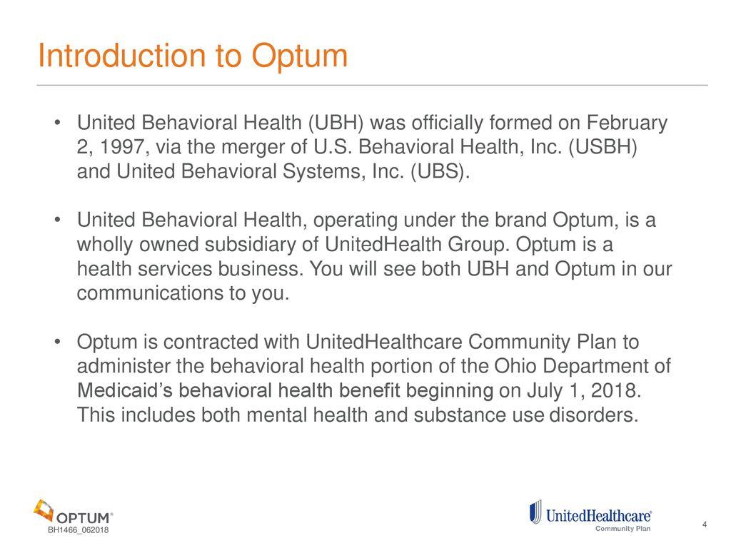 Behavioral Health Carve In Ohio Medicaid Provider Training Ppt