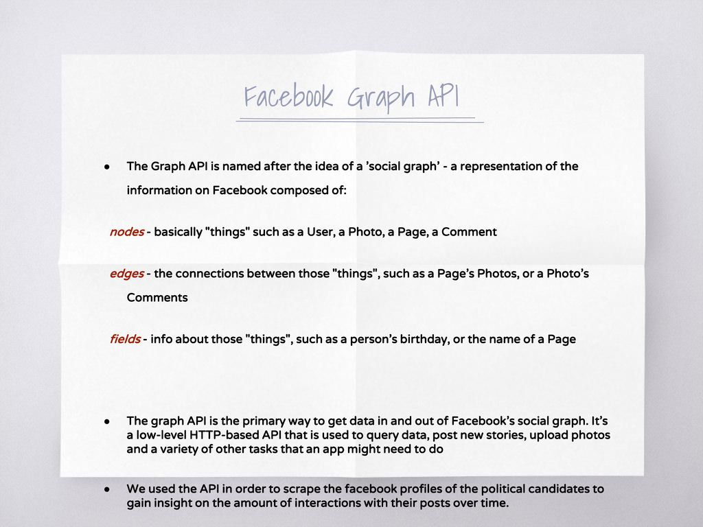 Political Web Scraping with Facebook - ppt download