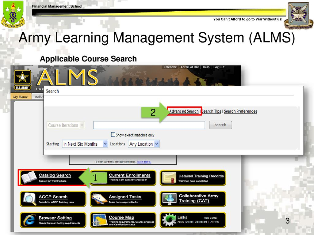 Army Alms Courses – Wonderful Image Gallery