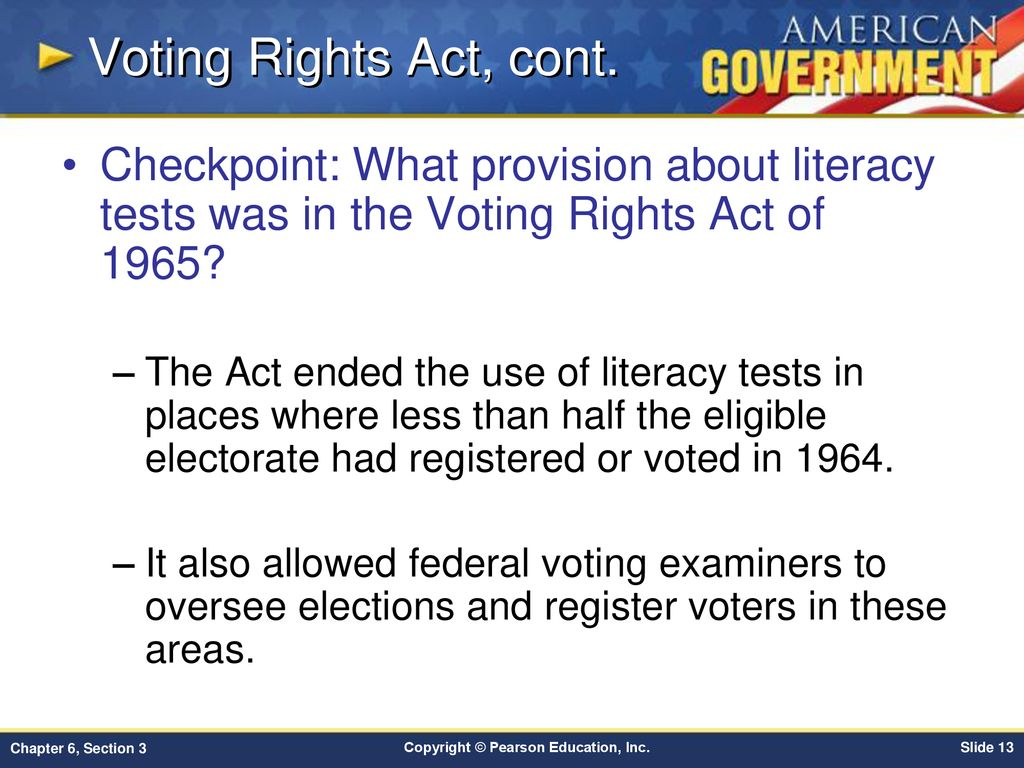 Chapter 6 Voters And Voter Behavior Section 3 Ppt Download