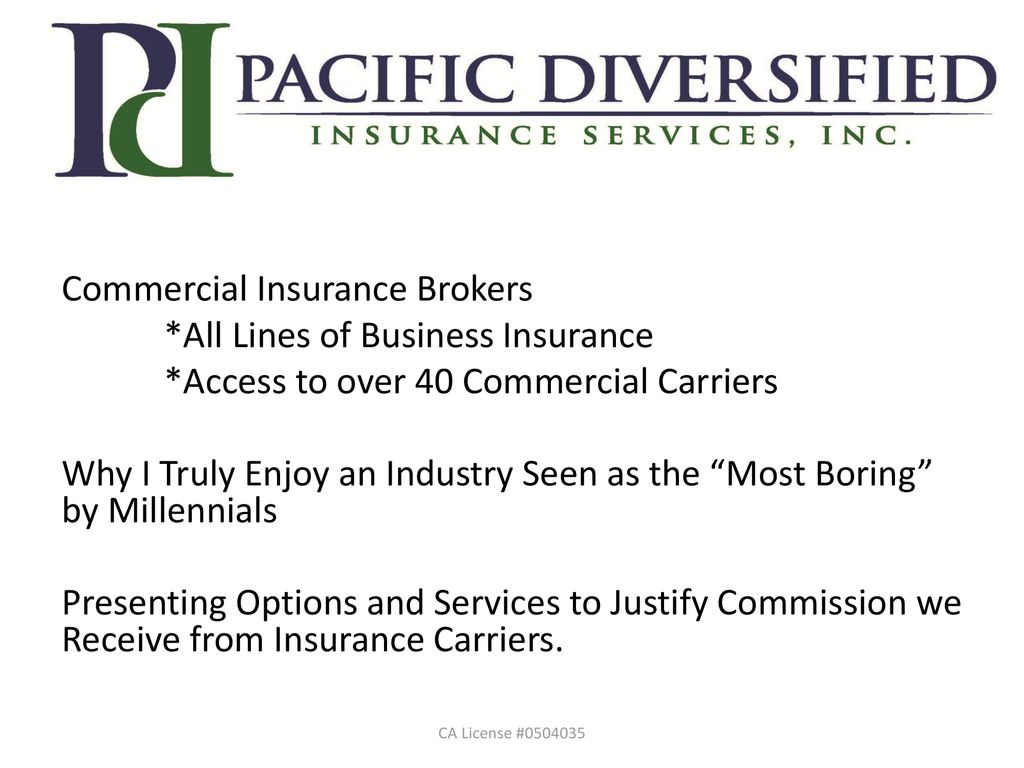 Commercial Insurance Brokers >> Commercial Insurance Brokers All Lines Of Business