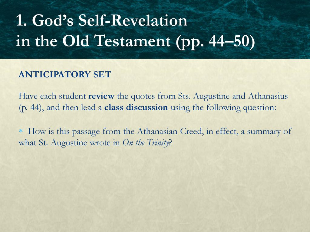 st augustine on the trinity summary