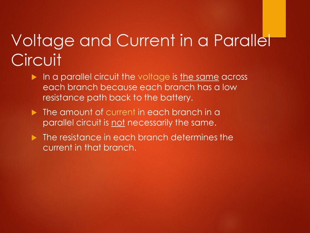 201 Series And Parallel Circuits Ppt Download Voltages Sizes Of Batteries In A Or Circuit Voltage Current