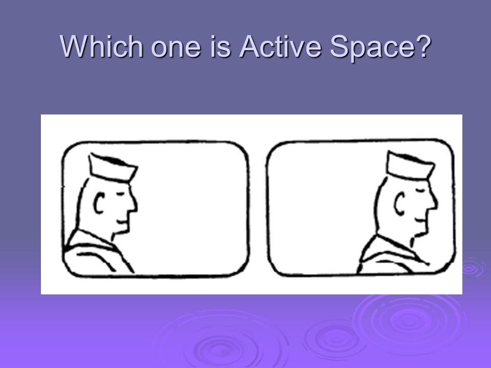 Which one is Active Space