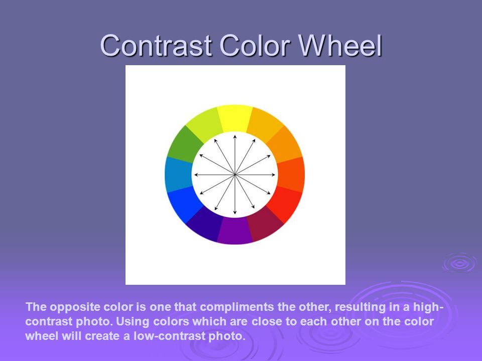 Contrast Color Wheel