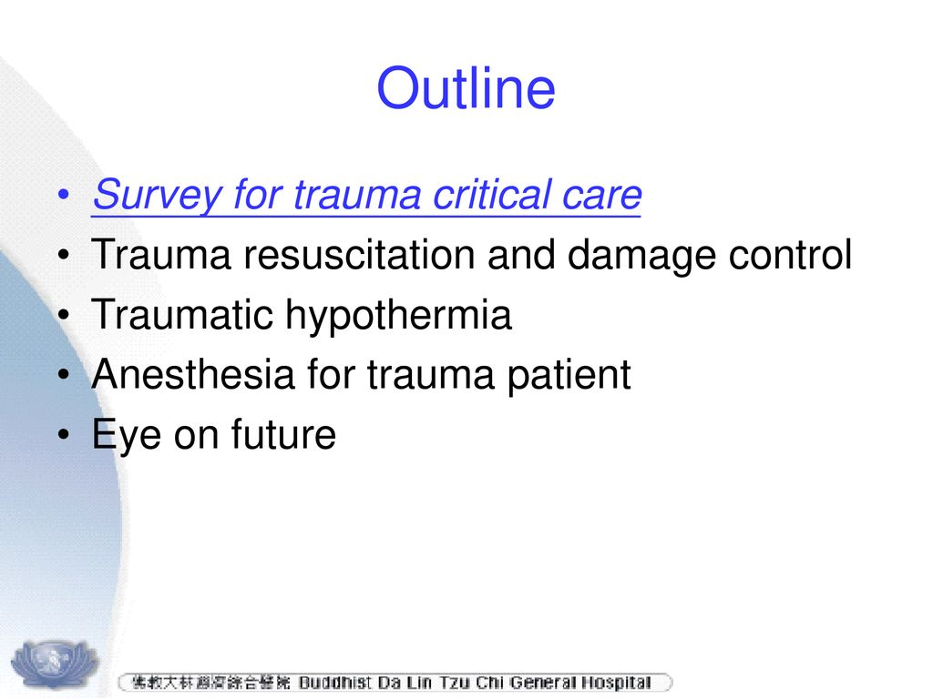 Trauma: Resuscitation, Perioperative Management, and Critical Care vol 1
