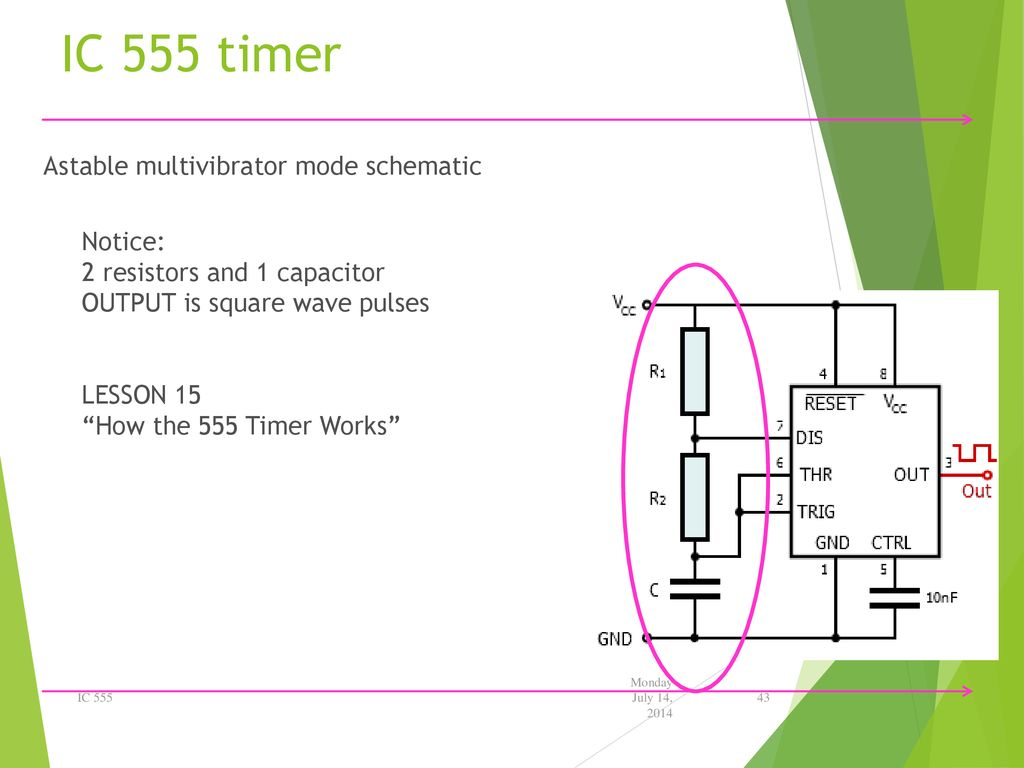 Electronic Education Kits Ppt Download Astable Multivibrator Using Ne 555 Timer Ic Circuit