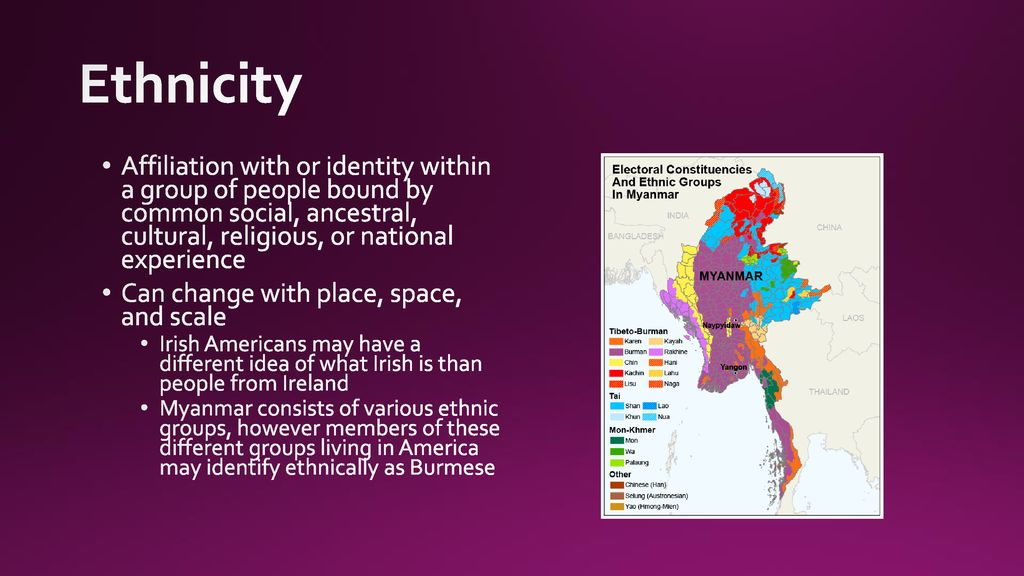 how does ethnicity affect identity