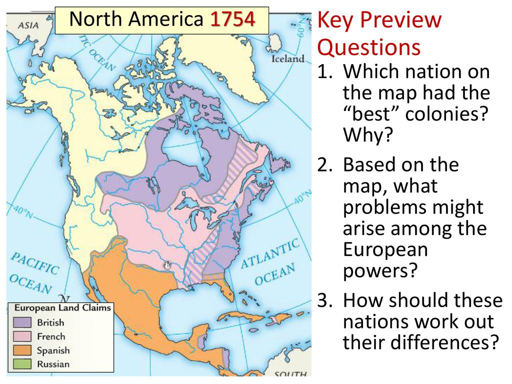 Map Of France With Key.Essential Question How Did Imperial Competition Between Britain