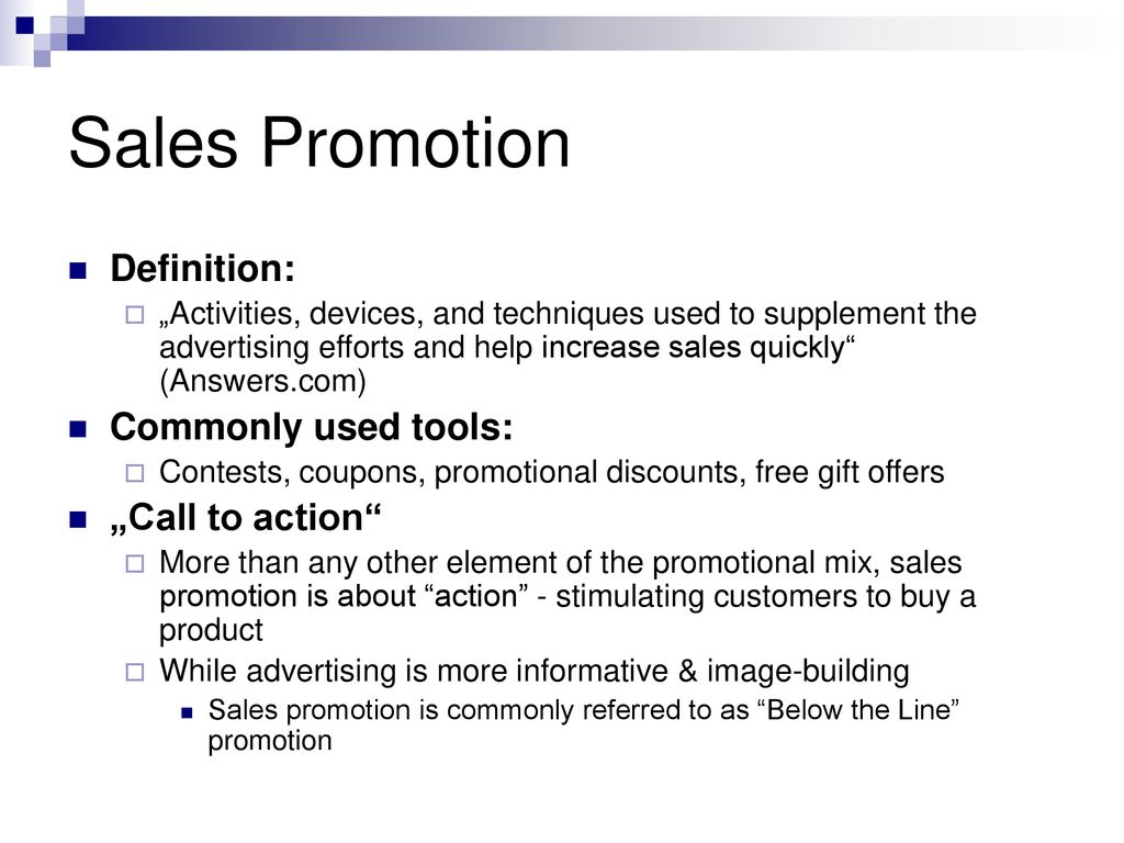 promotion marketing in english lukas gottwald - ppt download