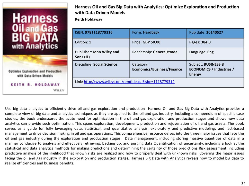 Profit Driven Business Analytics: A Practitioner - ppt download