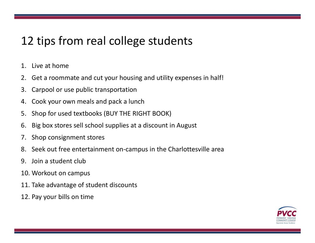 The Financially Savvy College Student - ppt download