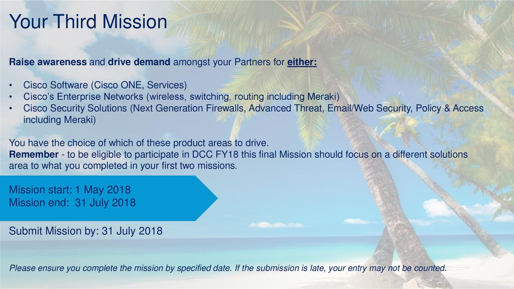 Mission 3 Instructions  - ppt download