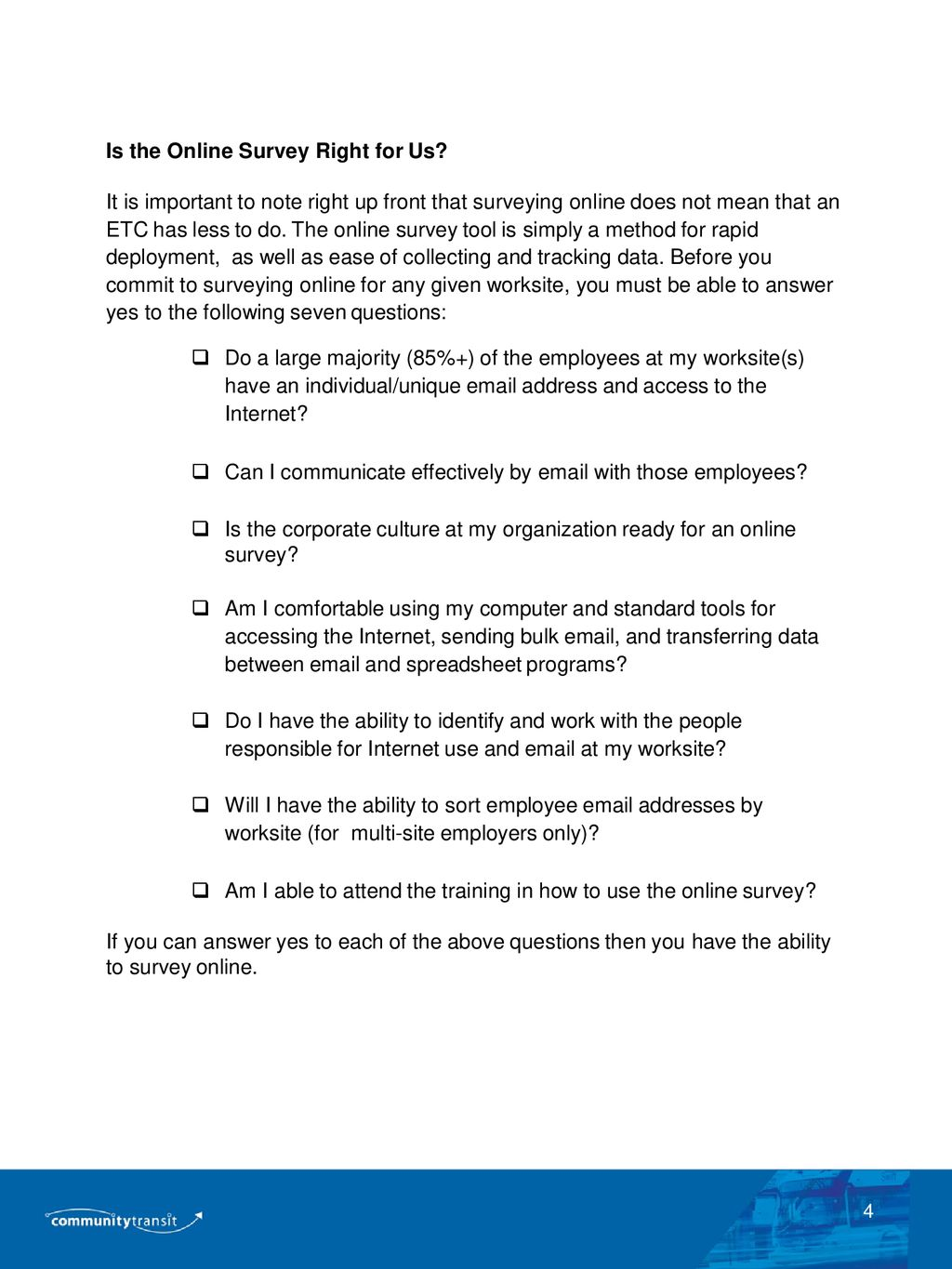 2018 GUIDE TO EMPLOYEE SURVEYING - ppt download