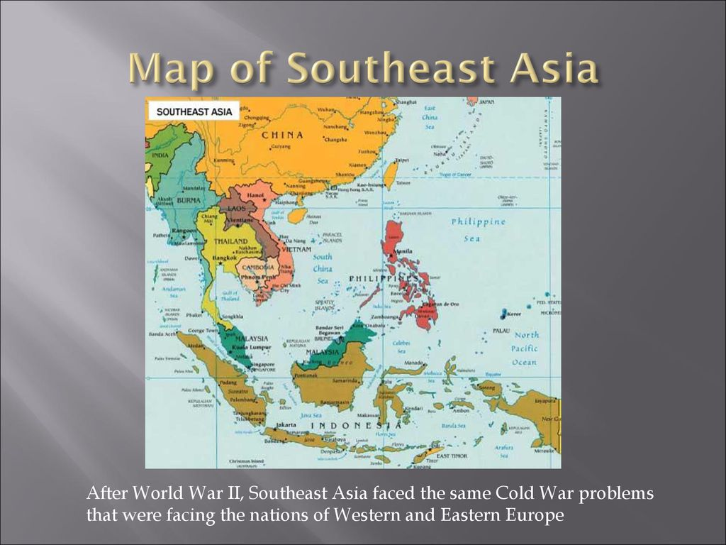Map Of Asia After Ww2.Objective Student Will Be Able To Tell How Relations Changed Between
