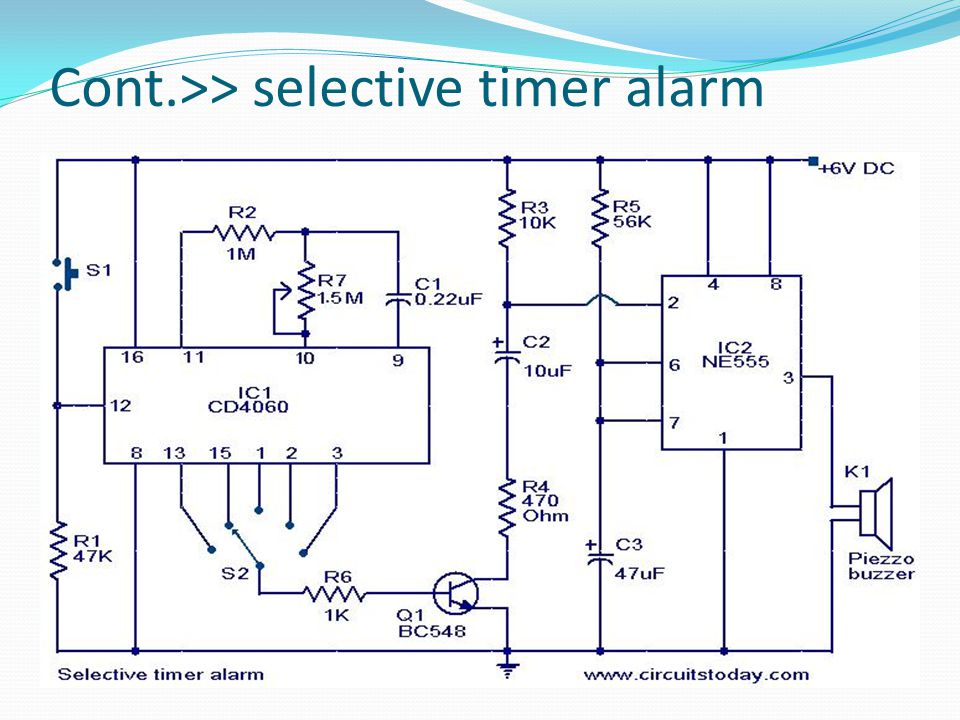 measurment project seven segment counter display circuit ppt videoselective timer alarm