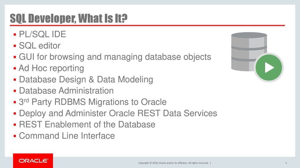 What's New in Oracle SQL Developer - ppt download