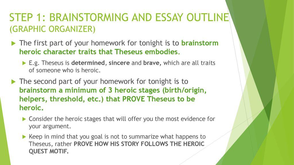 my most heroic deed essay