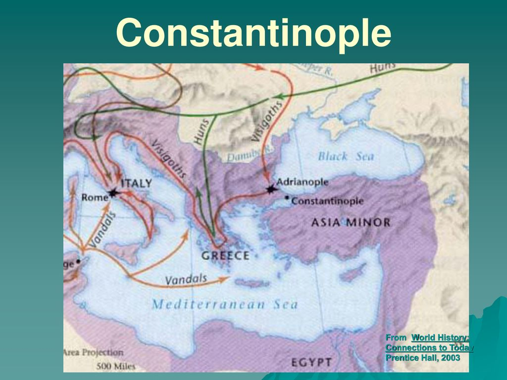 14 Constantinople From World History: Connections to Today Prentice Hall,  2003