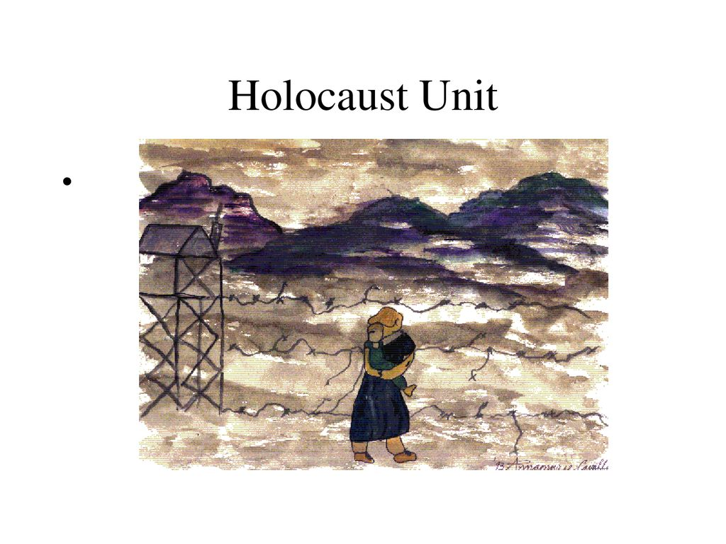 Image result for Holocaust unit