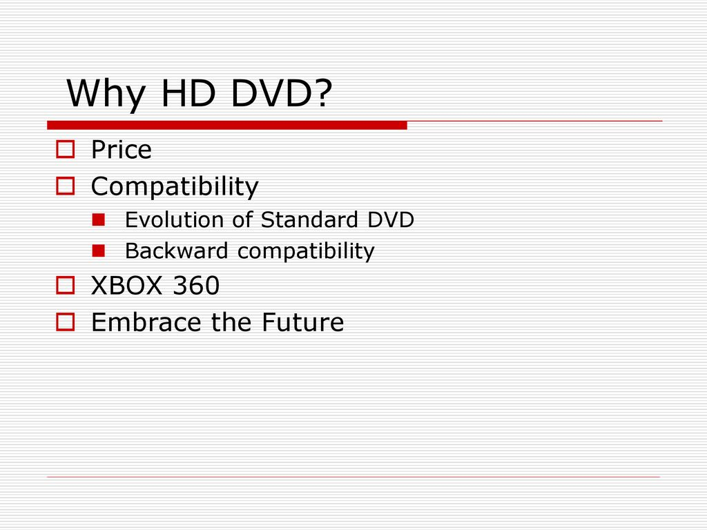 HD DVD By: John Aldinger  - ppt download