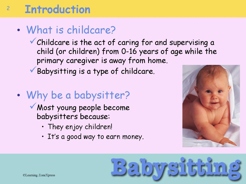 what is a babysitter