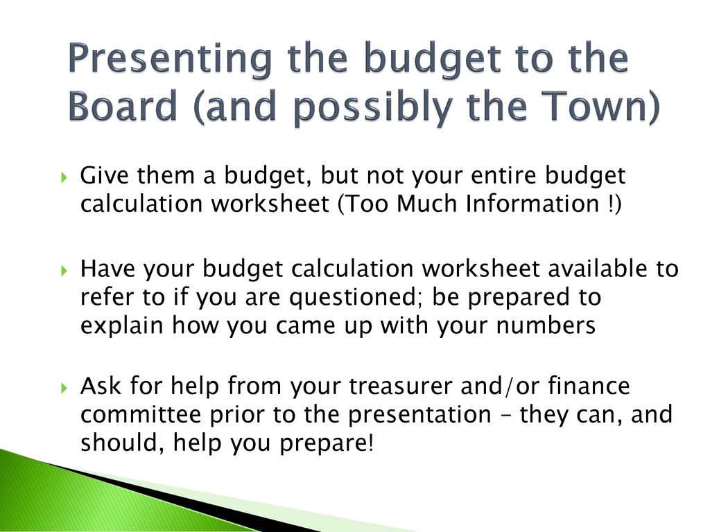 budgets and financial reporting for the new library director ppt