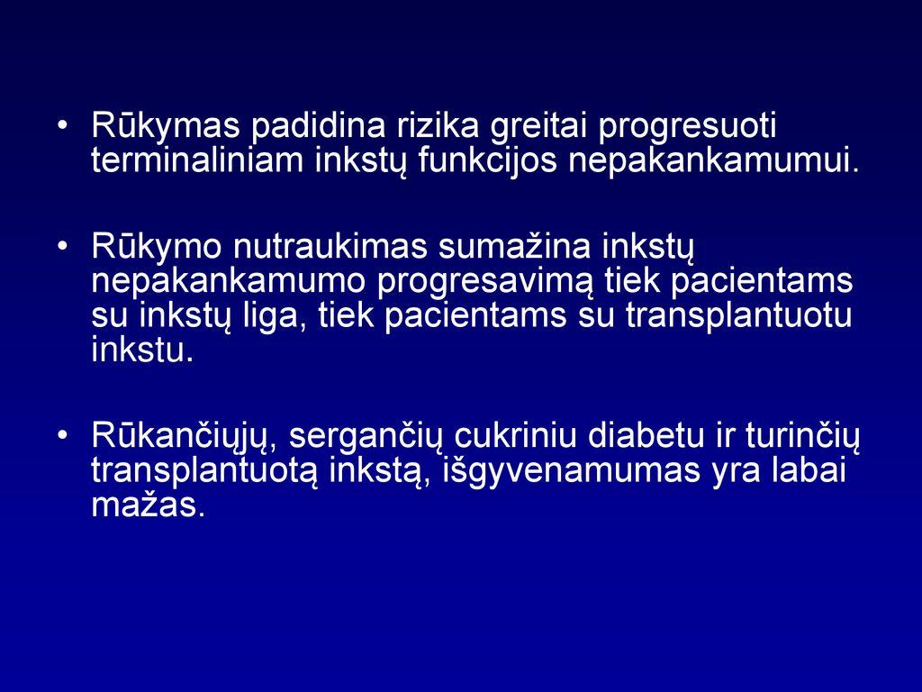 hipertenzija ir jos tankis)