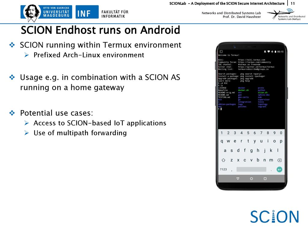 SCIONLab - A Deployment of the SCION Secure Internet Architecture
