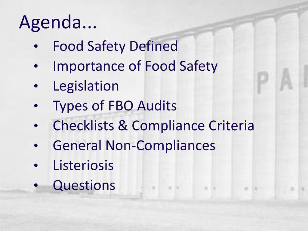 Food Safety Grain Storage Eugene Rossouw  - ppt download