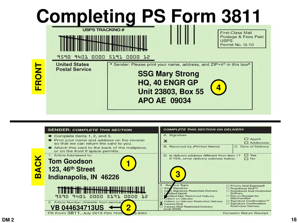 Inter Service Postal Training Activity Ppt Download