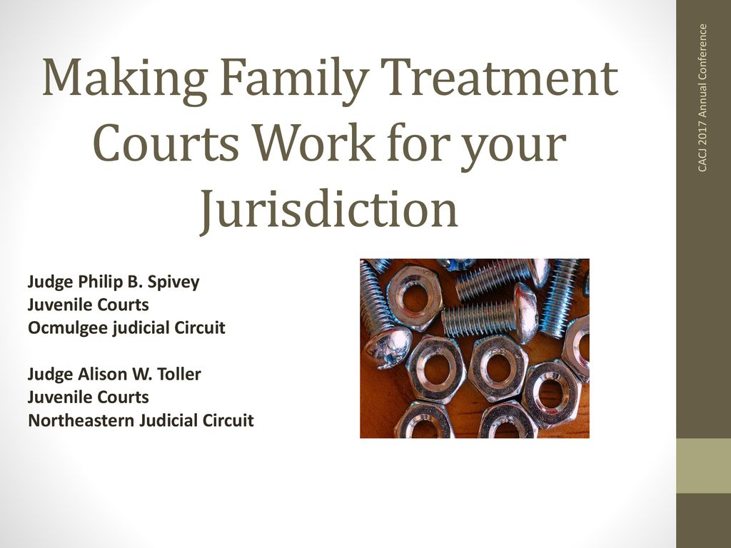 Making Family Treatment Courts Work for your Jurisdiction