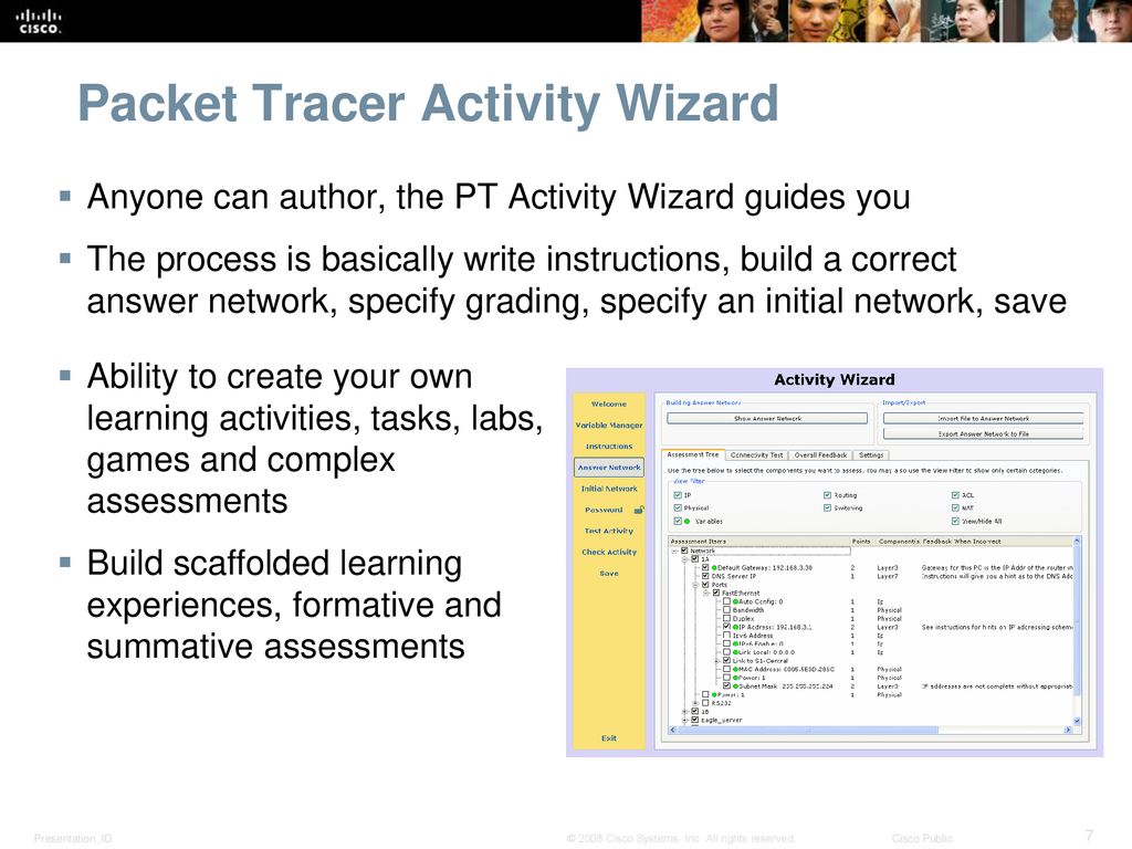 Packet Tracer 5 0 Overview - ppt download