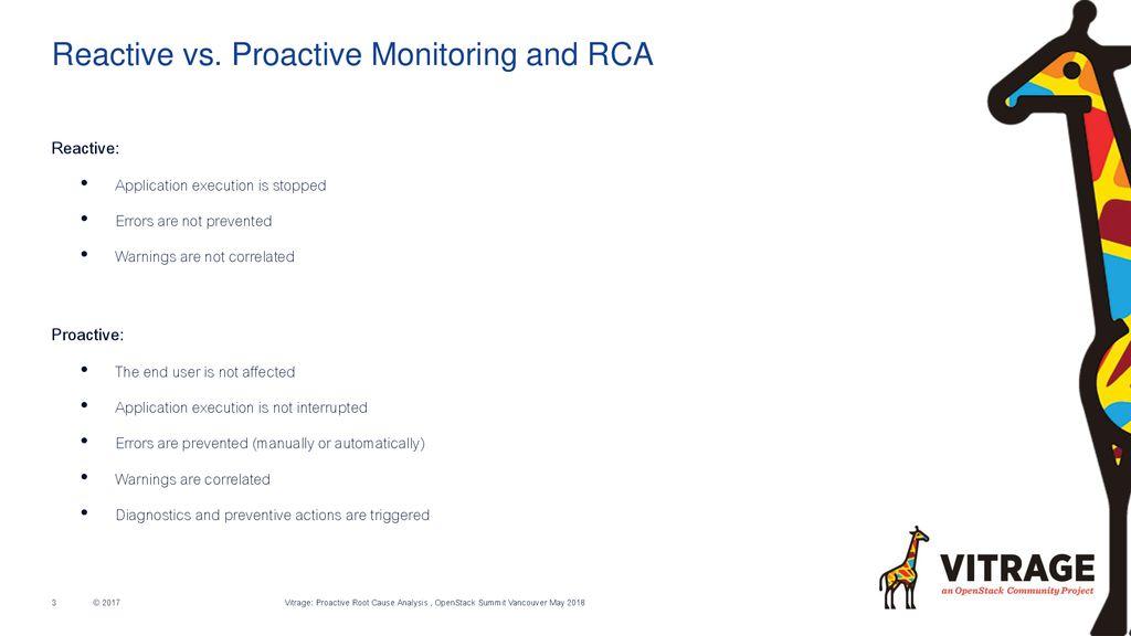 Proactive RCA with Vitrage, Kubernetes, Zabbix and Prometheus - ppt